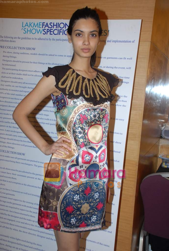 at Gayatri Khannas fittings for LIFW in Grand Hyatt on 23rd March 2009