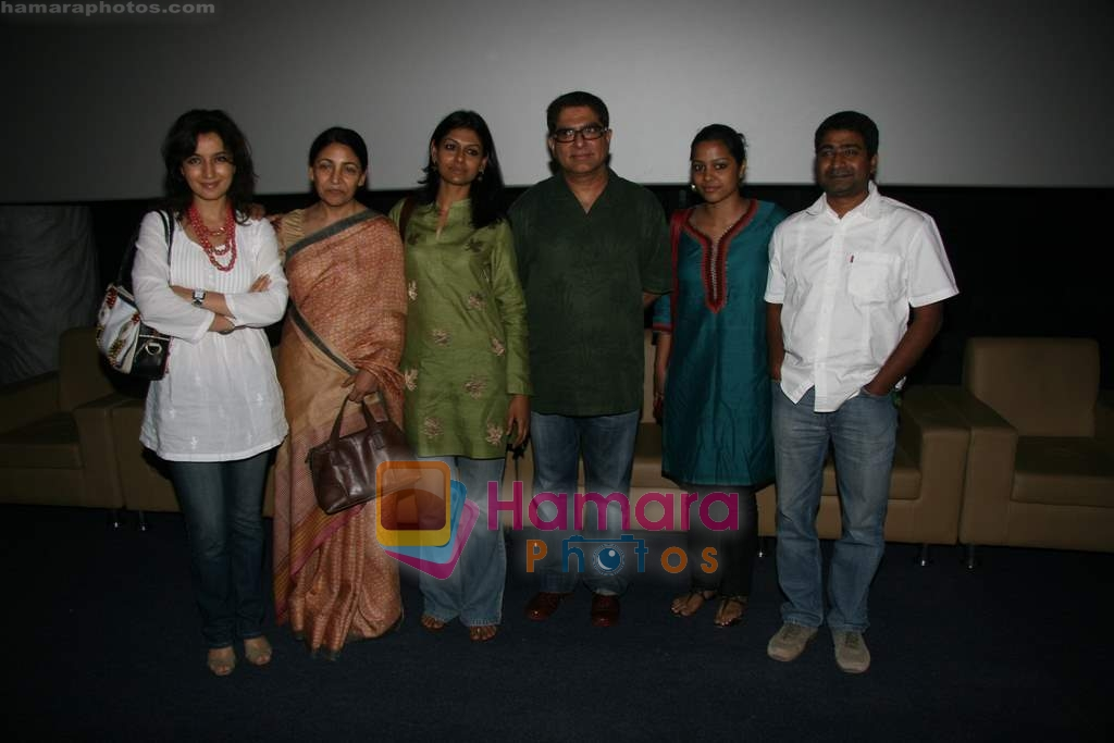 Tisca Chopra, Deepti Naval, Shahana Goswami, Nandita Das, Deepak Chopra at special screening of Firaaq in Fame, Malad on 24th March 2009