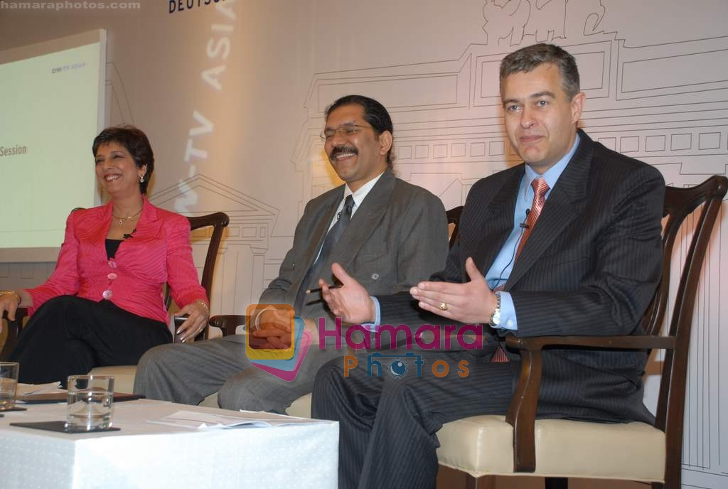 at DW TV press meet in Taj on 24th March 2009