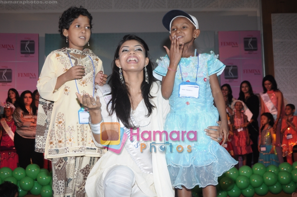Miss India NGO visit at Tata Hospital in Mumbai on 24th March 2009