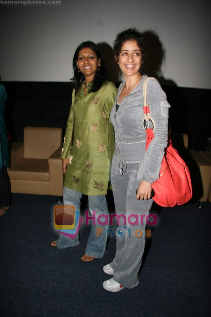 Nandita Das, Manisha Koirala at special screening of Firaaq in Fame, Malad on 24th March 2009