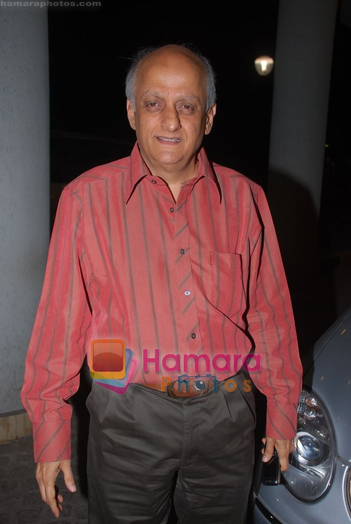 Mukesh Bhatt at Producers meet in Andheri, Mumbai on 24th March 2009