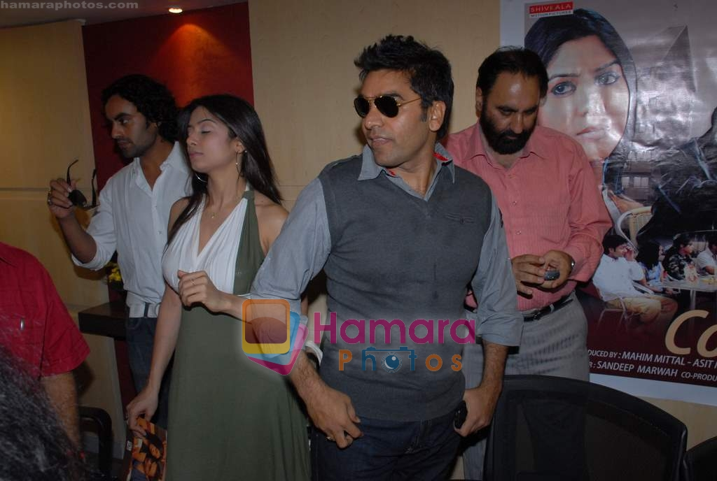 Aman Dhaliwal, Neha Mishra, Ashutosh Rana at Coffee House Press Meet in Andheri on 25th March 2009