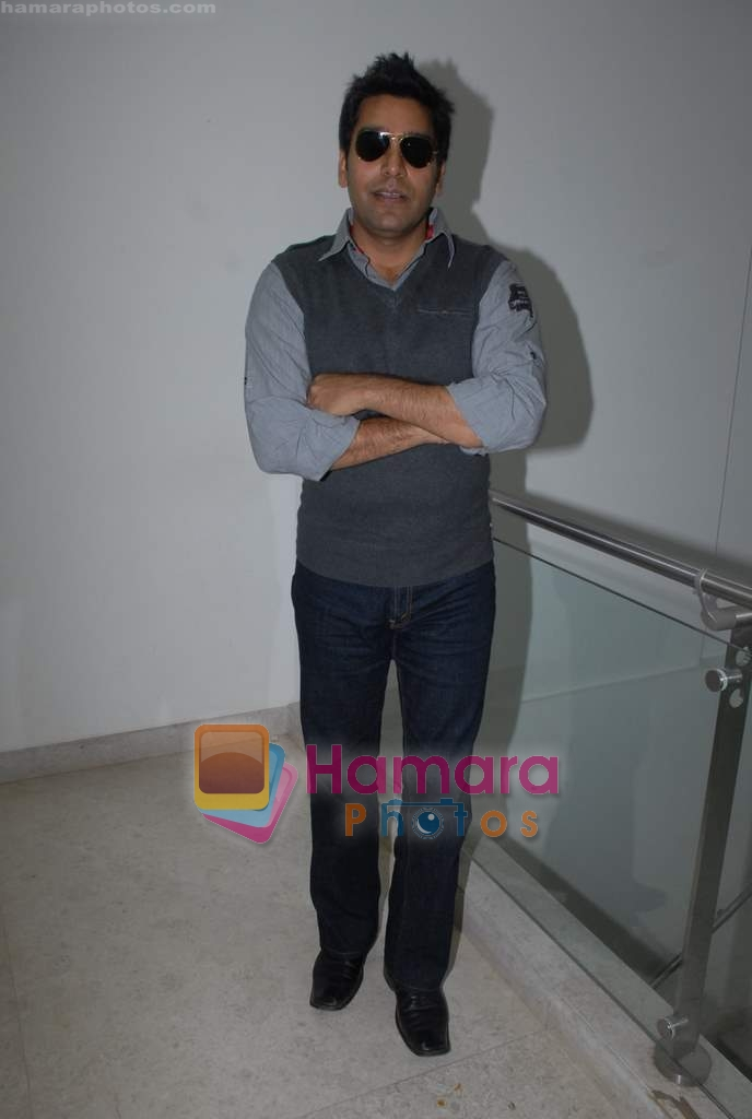 Ashutosh Rana at Coffee House Press Meet in Andheri on 25th March 2009