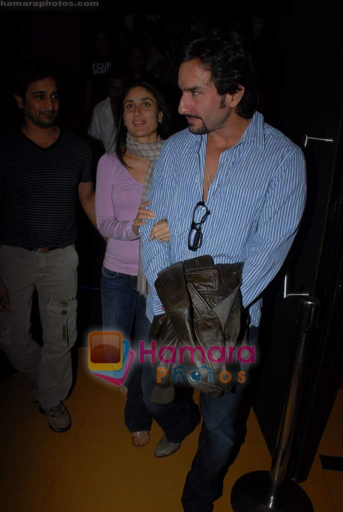 Kareena Kapoor, Saif Ali Khan at The International premiere in Cinemax on 25th March 2009