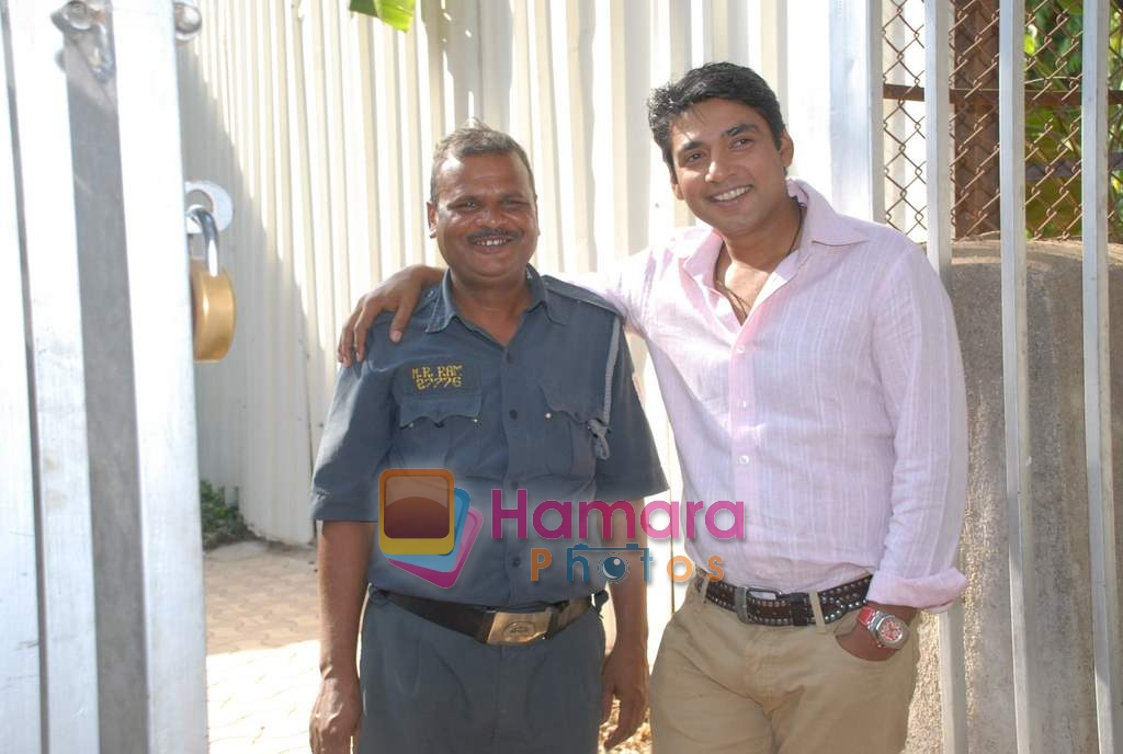 Ajay Jadeja on the sets of Comedy Circus in Andheri on 25th March 2009