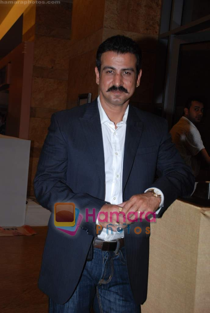 Ronit Roy at Lakme Fashion week fittings in Drand Hyatt on 25th March 2009