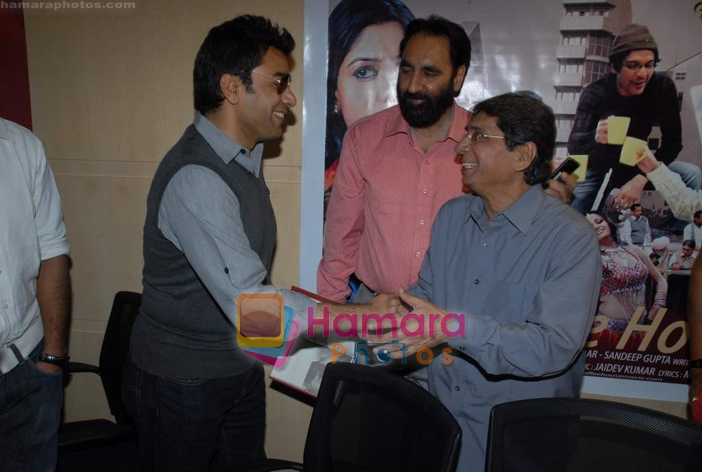 Ashutosh Rana, Javed Khan at Coffee House Press Meet in Andheri on 25th March 2009