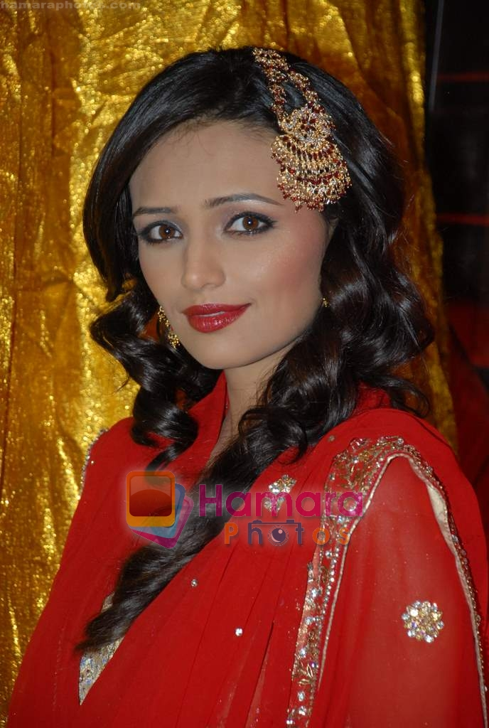 Roshni Chopra on the sets of Comedy Circus in Andheri on 25th March 2009