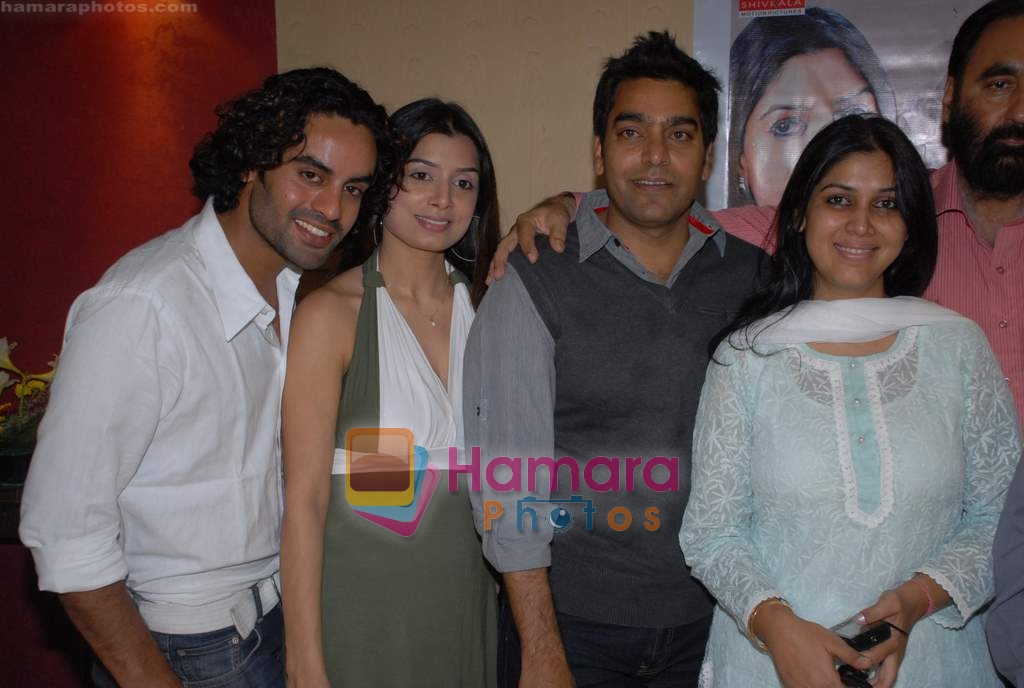 Aman Dhaliwal, Neha Mishra, Ashutosh Rana, Sakshi Tanwar at Coffee House Press Meet in Andheri on 25th March 2009