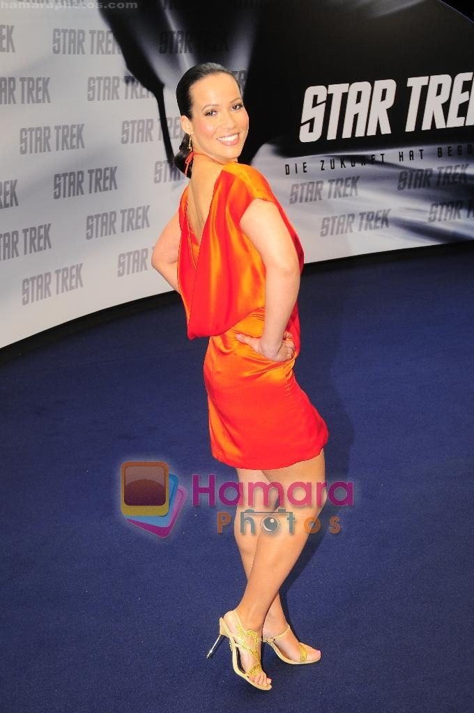 at the Star Trek premiere on 15th June 2009