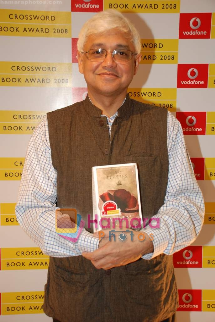 Amitav Ghosh at Crossword Book store awards in Nehru Centre on 23rd July 2009