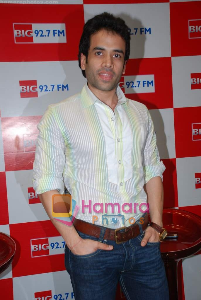 Tusshar Kapoor at Big 92.7 FM on 4th Aug 2009