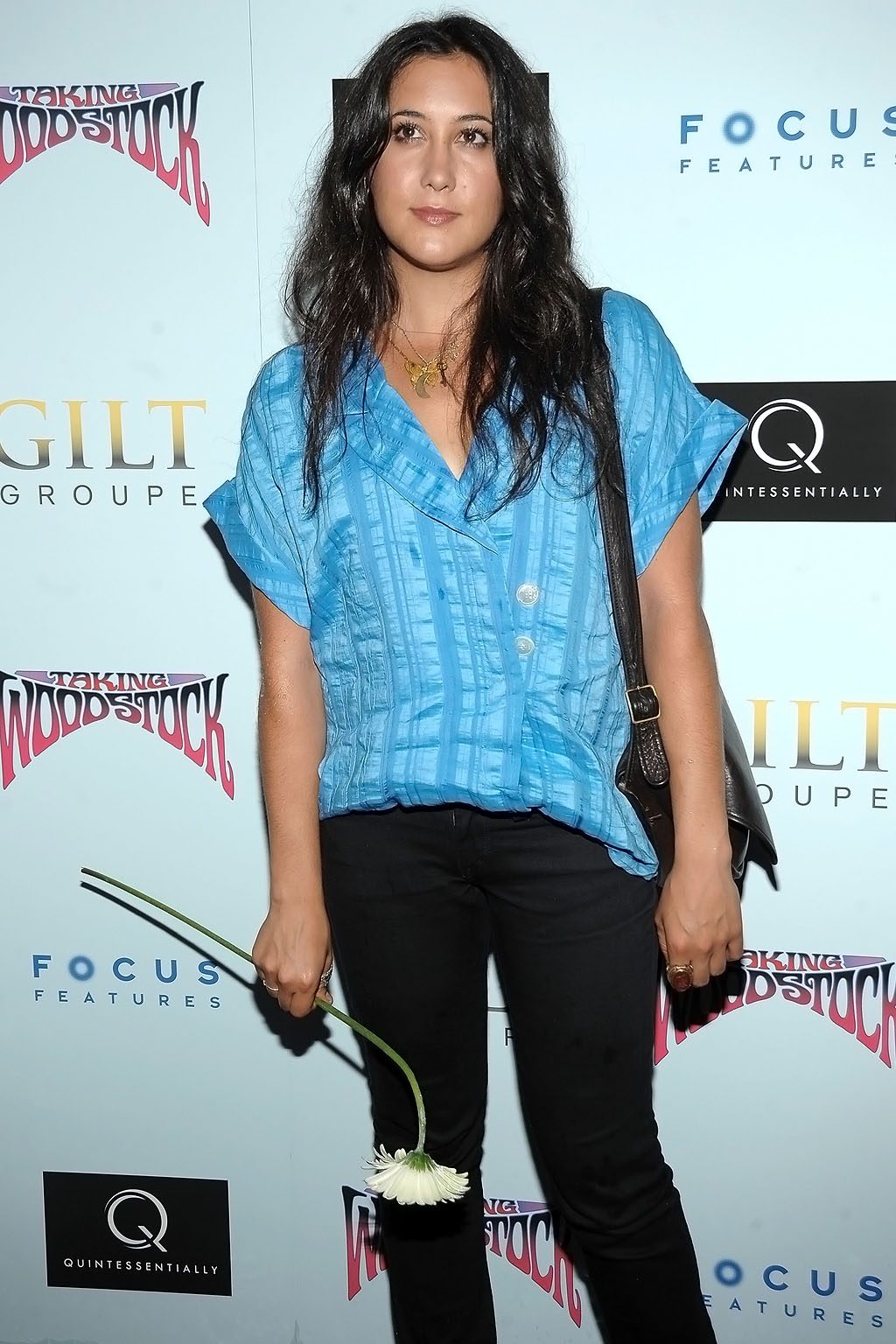 Vanessa Carlton at NY premiere of TAKING WOODSTOCK on July 29, 2009 at Landmark's Sunshine Cinema