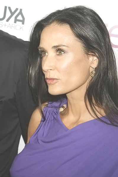 Demi Moore at the LA Premiere of SPREAD on August 3rd 2009 at ArcLight Cinemas