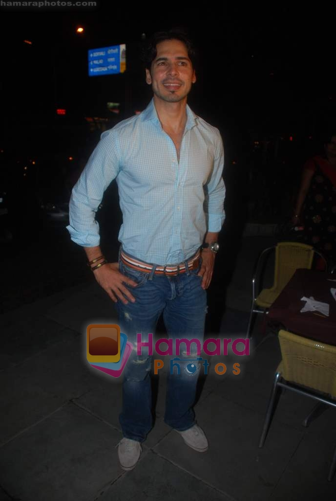 Dino Morea at Dino Morea's Crepe Station launch in Oshiwara on 5th Aug 2009