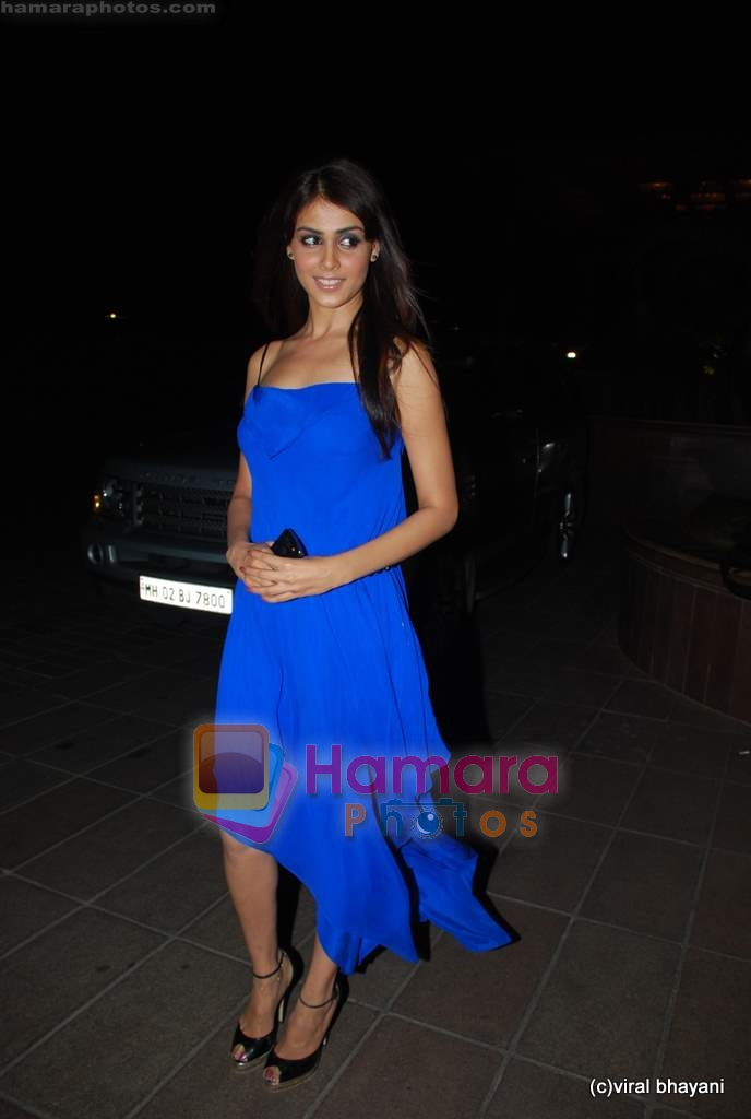 Genelia D Souza at Ramesh Taurani's 25th Wedding Anniversary Celebrations on 11th Aug 2009 ~0