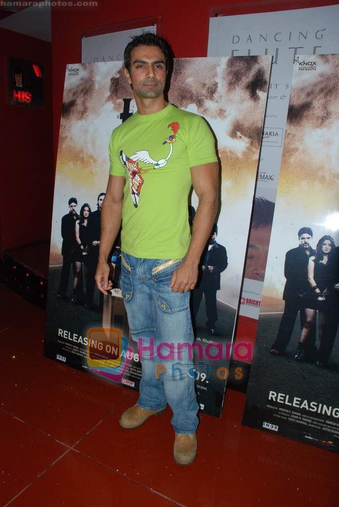 Ashmit Patel at film Toss press meet in Cinemax on 11th Aug 2009