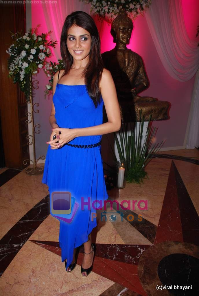 Genelia D Souza at Ramesh Taurani's 25th Wedding Anniversary Celebrations on 11th Aug 2009