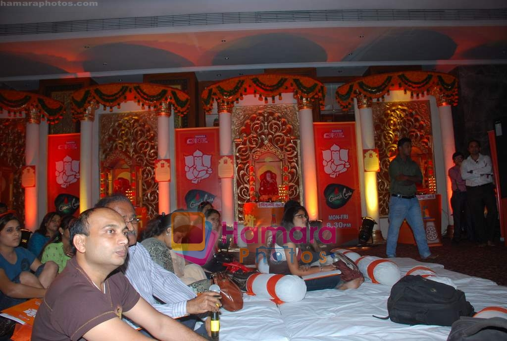 at the Launch of Ganesh Leela on Sahara One in Hotel Sea Princess on 11th Aug 2009