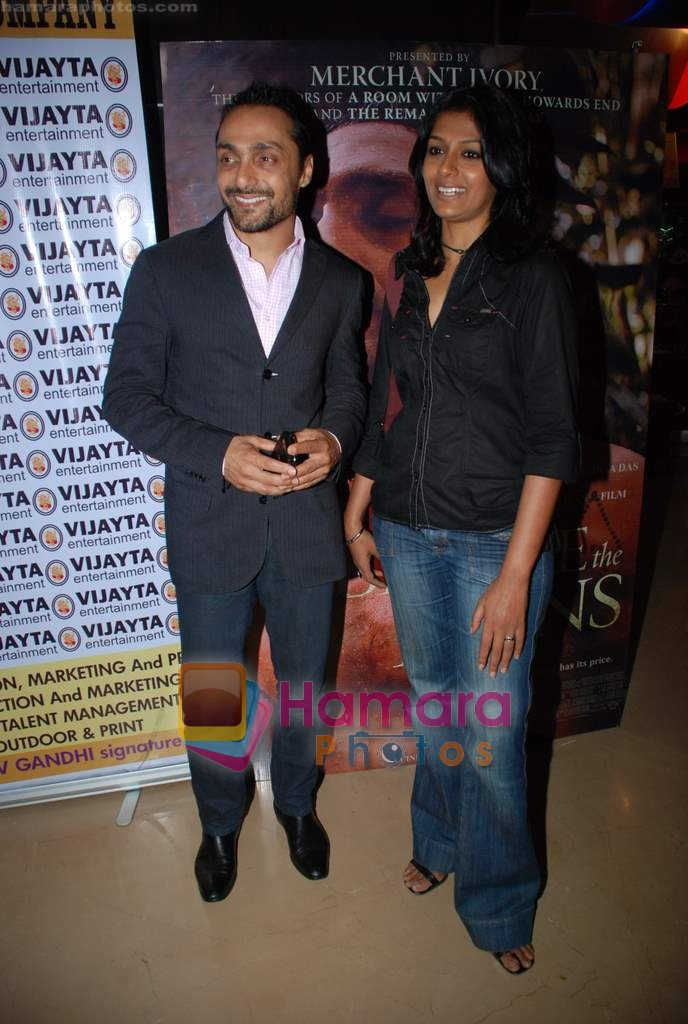 Rahul Bose, Nandita Das at the premiere of Before The Rains in PVR on 12th Aug 2009