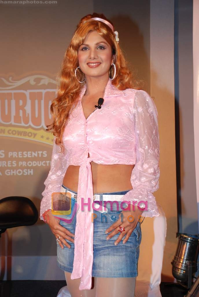 Rambha at Quick Gun Murugun premiere in J W Marriott on 12th Aug 2009
