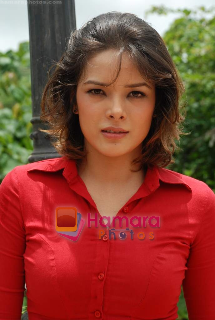 Udita Goswami at Film Chase on location in FilmCity on 13th Aug 2009