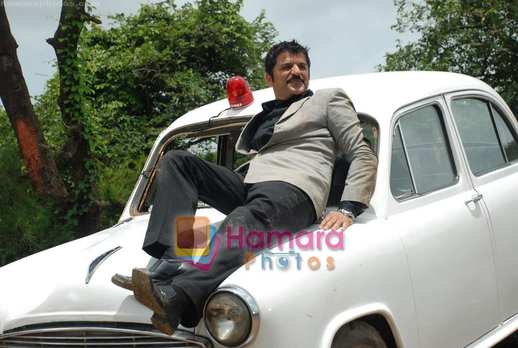 Rajesh Khattar at Film Chase on location in FilmCity on 13th Aug 2009