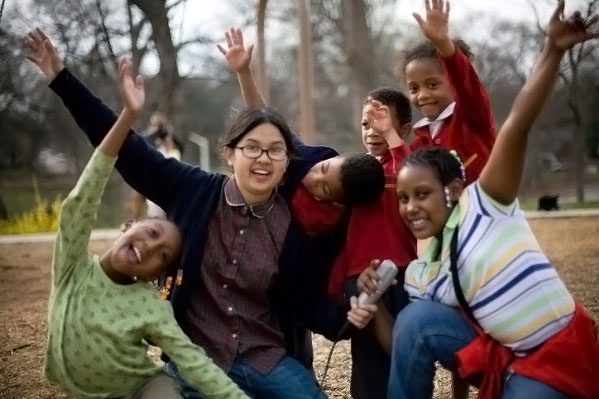 Charlyne Yi in still from the movie Paper Heart