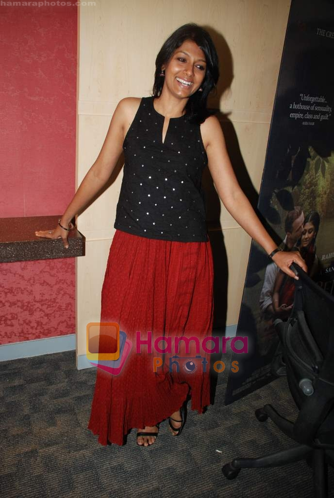Nandita Das at the press meet for film Before the rains in Andheri on 13th Aug 2009