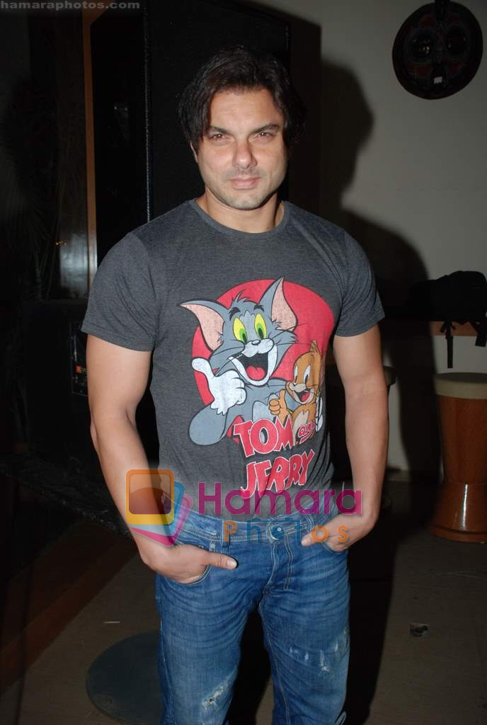 Sohail Khan at Daboo Mallik's bash in Marimba Lounge on 14th Aug 2009