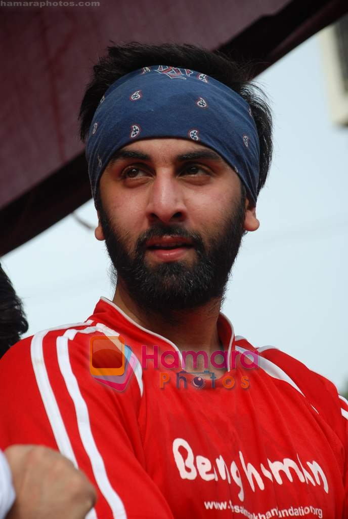 Ranbir Kapoor at Being Human soccer match in Bandra on 15th Aug 2009