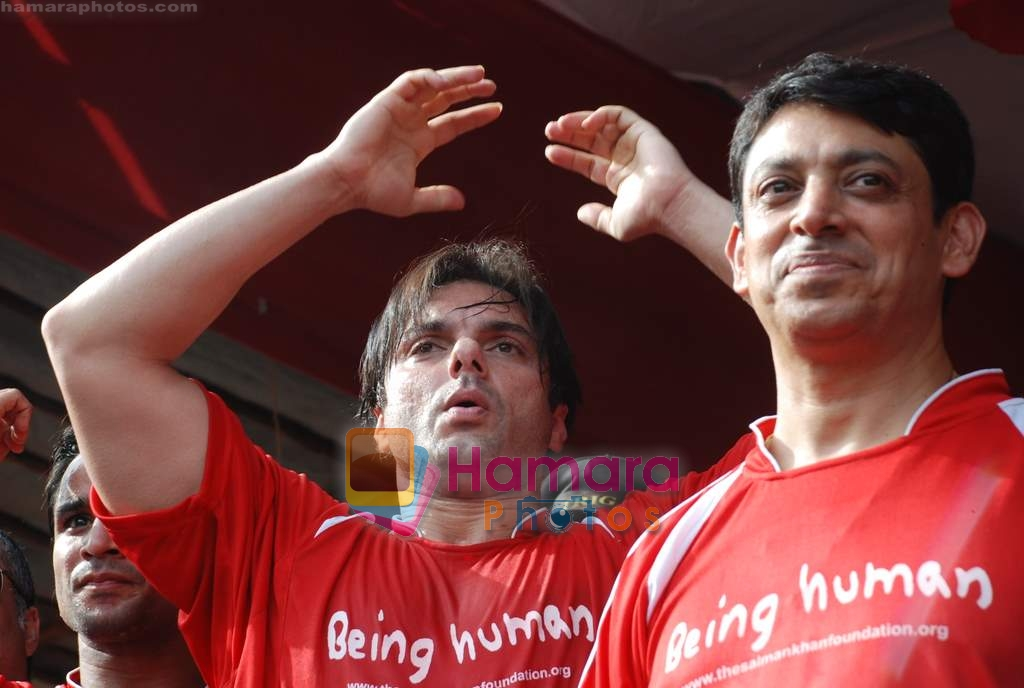 Sohail Khan at Being Human soccer match in Bandra on 15th Aug 2009