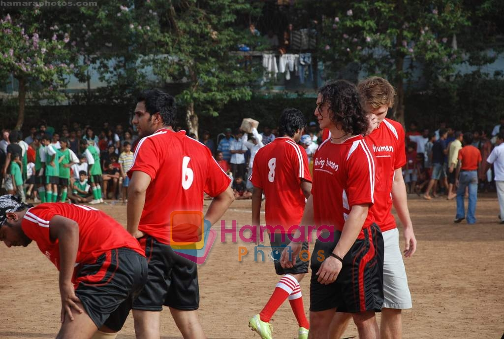 at Being Human soccer match in Bandra on 15th Aug 2009