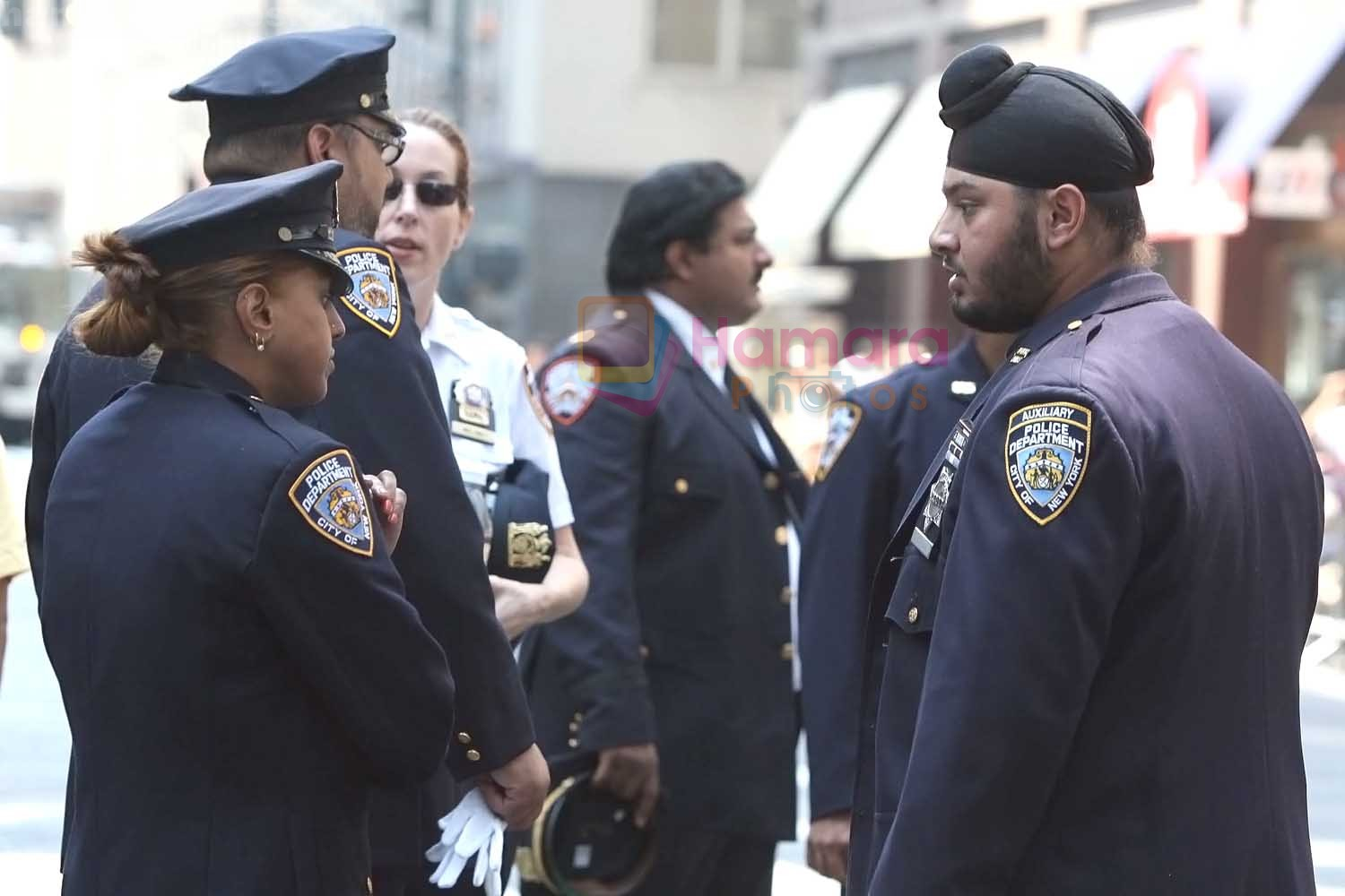 First Sikh NYPD cop on duty during the 29th India Day Parade and Festival held on August 16, 2009 in Manhattan, New York - ANI