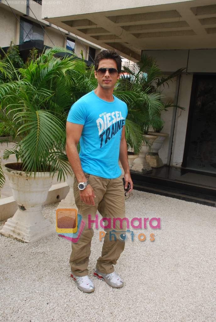 Shahid Kapoor  on 16th Aug 2009