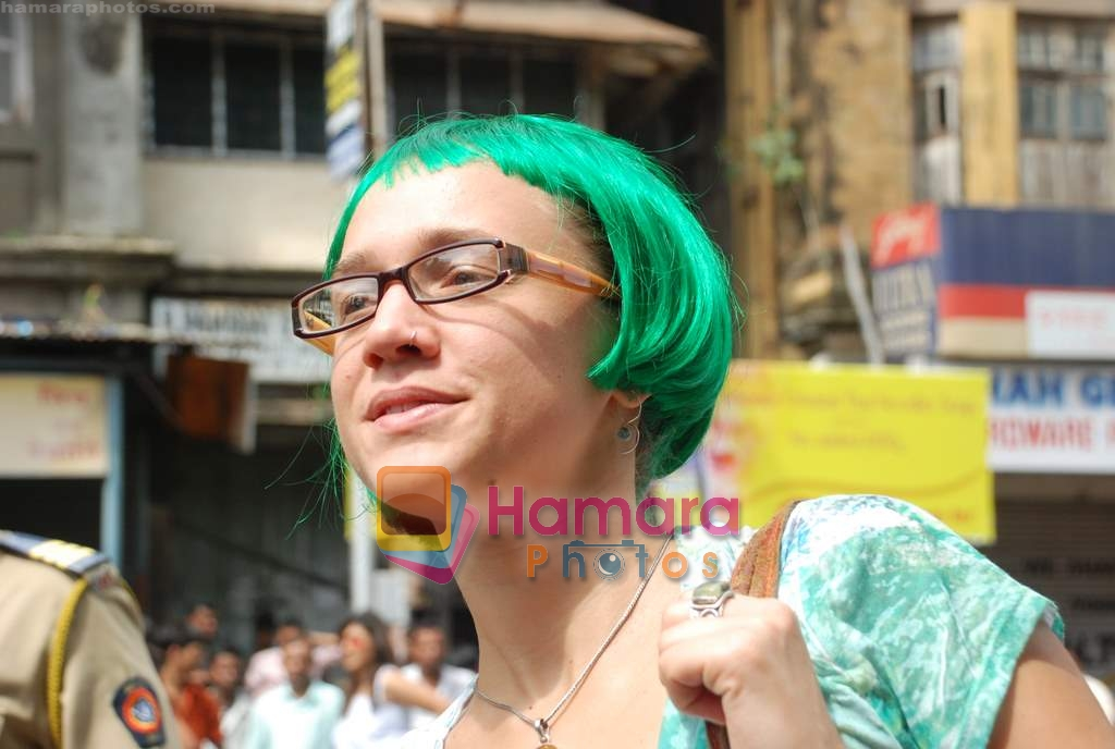 at Gay Parade in August Kranti Maidan on 16th Aug 2009