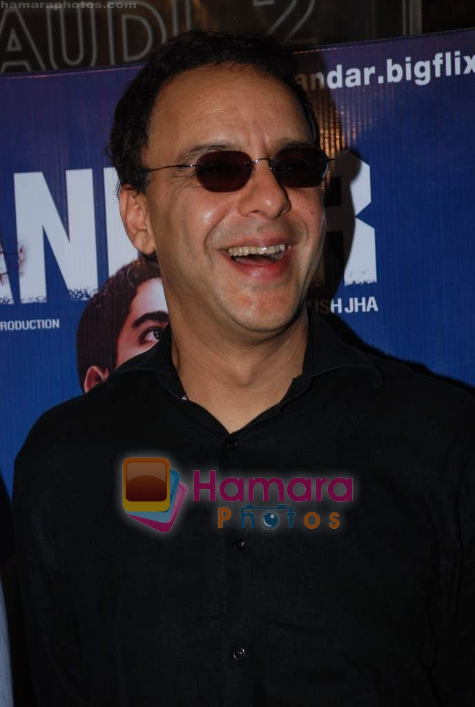 Vidhu Vinod Chopra at Sikandar promotional event in PVR on 17th Aug 2009