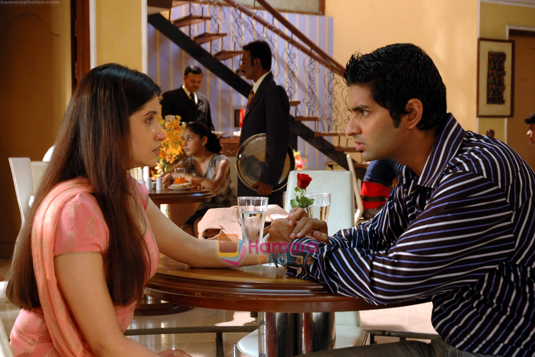 Smilie-Suri-and-Purav-Kohli in the still from movie YMI