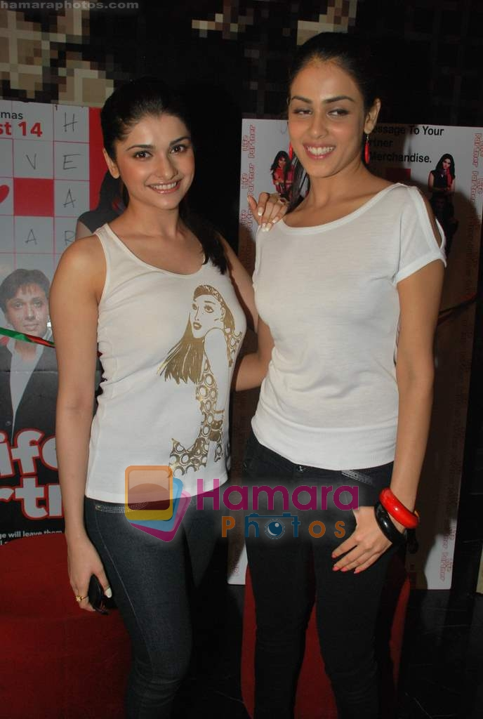 Prachi Desai, Genelia D Souza at the Special screening of Life Partner in PVR on 17th Aug 2009