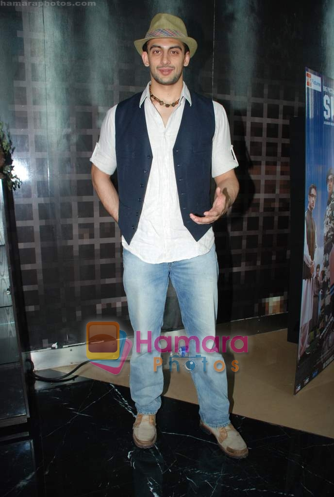 Arunoday Singh at Sikandar promotional event in PVR on 17th Aug 2009