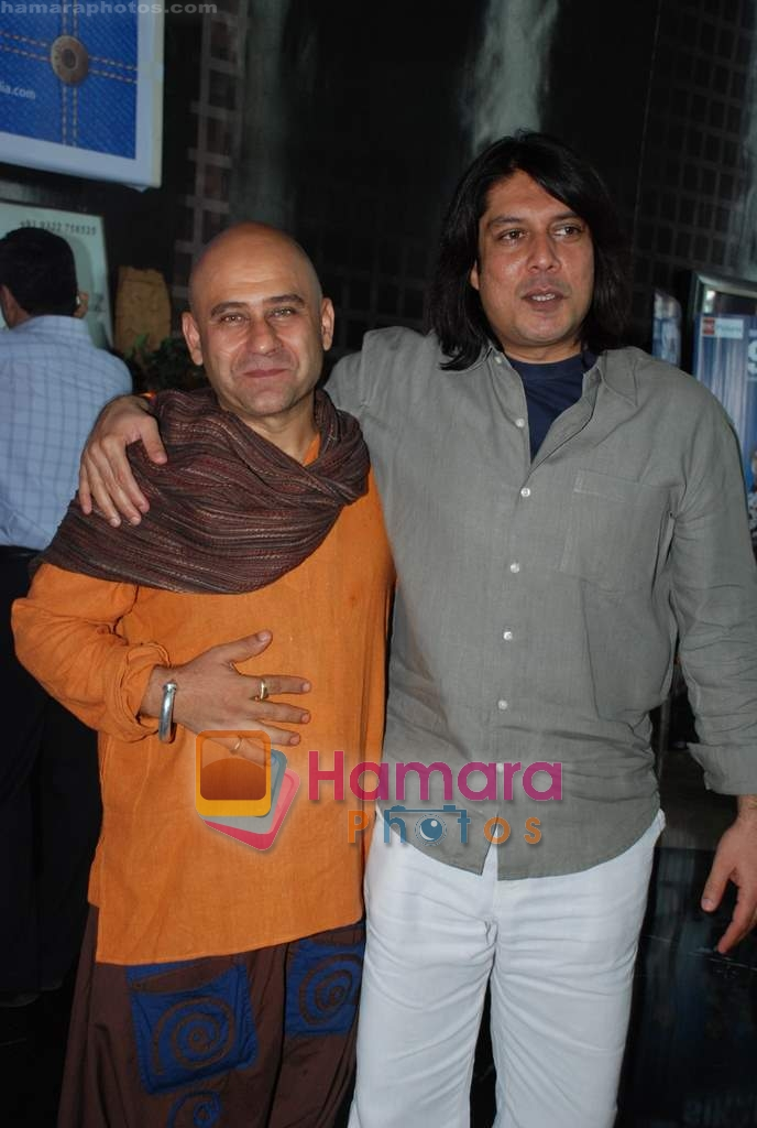 Piyush Jha at Sikandar promotional event in PVR on 17th Aug 2009