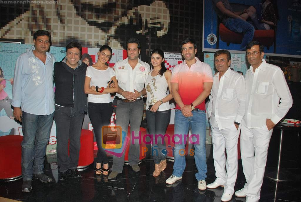 Tusshar Kapoor, Prachi Desai, Genelia D Souza, Fardeen Khan, Govinda, Abbas Mastan at the Special screening of Life Partner in PVR on 17th Aug 2009