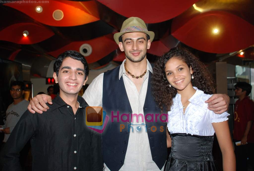 Parzun Dastur, Arunoday Singh, Ayesha Kapur at Sikandar promotional event in PVR on 17th Aug 2009