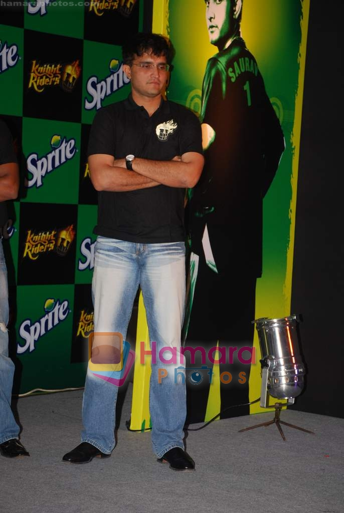 Sourav Ganguly at Kolkatta Knight Riders winners meet in Taj Land's End on 1st Sep 2009