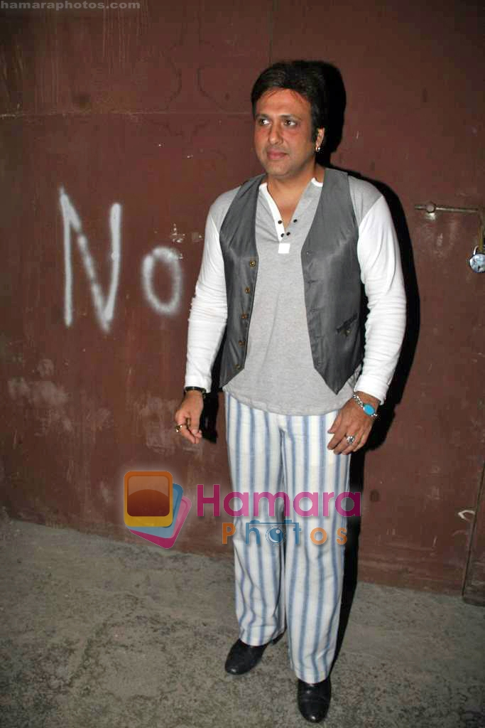 Govinda on the sets of Do Knot Disturb in Filmistan on 17th Sep 2009