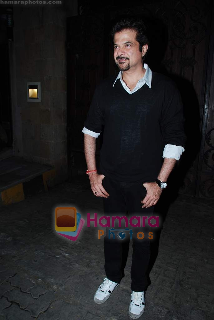 Anil Kapoor at Anil Kapoor's birthday bash in Juhu Residence on 24th Dec 2009