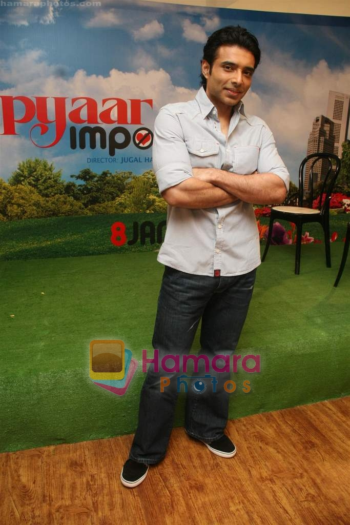 Uday Chopra at Pyaar Impossible photo shoot in Yash Raj on 25th Dec 2009