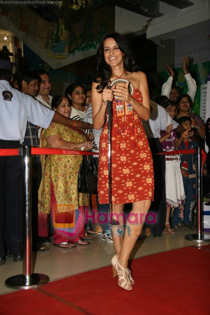 Neha Dhupia at RAAT Gayi Baat Gayi promotional event in Oberoi Mall on 26th Dec 2009