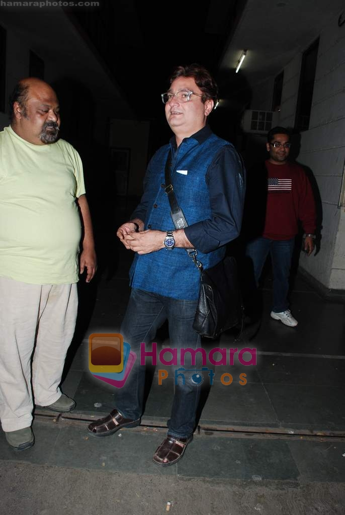 Vinay Pathak at the special screening of Raat Gayi Baat Gayi in Star House on 29th Dec 2009